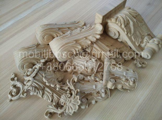 Резной деревянный декор, 3D моделирование декора, мебели, промдизайн.
