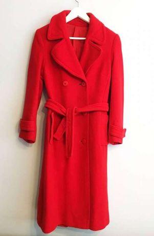 płaszcz wełniany vintage