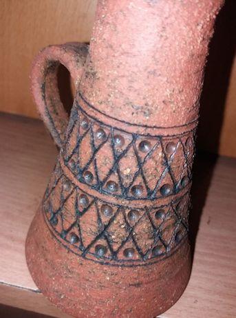 Dzbanek ceramiczny z afryki