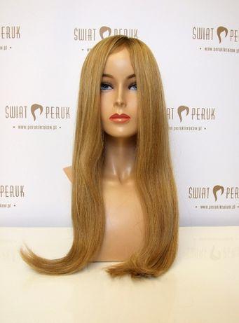 Peruka długa z włosa naturalnego Kielce