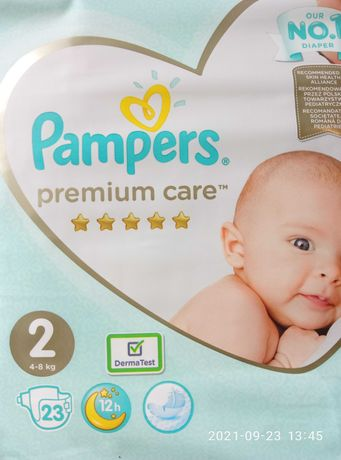 Подгузники  Pampers Premium Care (4-8) кг
