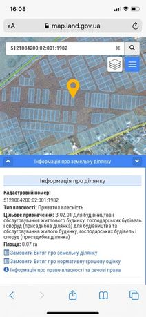 Продам СВОЙ участок в с.Нерубайское