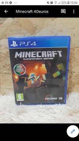 Jogos minecraft ps4