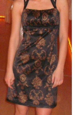 Sukienka czarna r. 38
