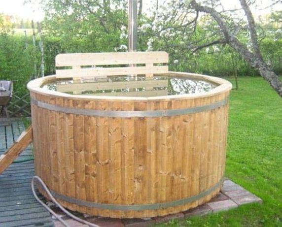 Balia ogrodowa fi 160 gorąca beczka hot tub bania basen