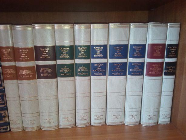 """Livros """"Grandes temas da nossa história"""""""