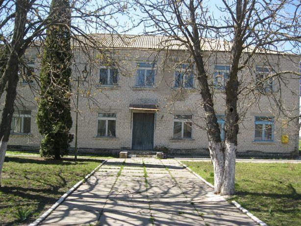 Продаж адміністративної будівлі в селі Ліщинка, Кагарлицького р-ну.