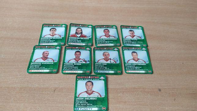 Mistrzostwa star foods 2002 karty