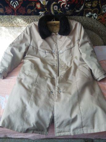 Пальто утепленное на размер 52
