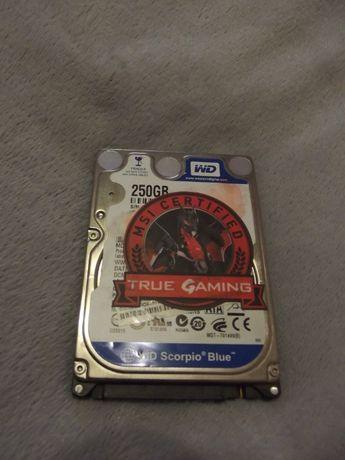 жесткий диск для ноутбука WD Blue SATA 250 gb
