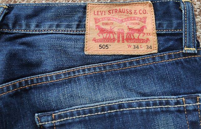 levi's 505 джинсы W34 L34 оригинал levis