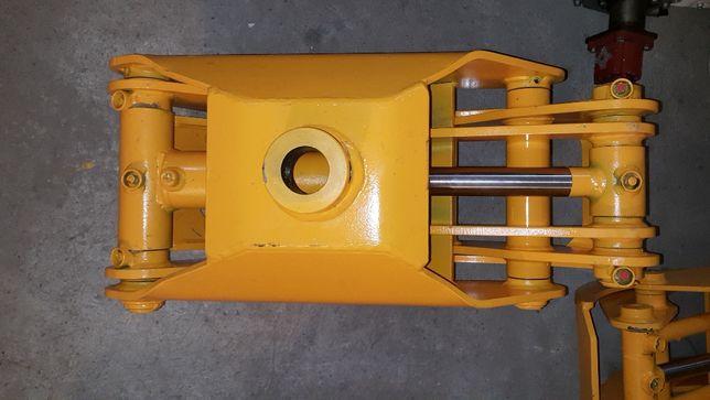 CHWYTAK 0,17 DO DREWNA do Żuraw Dźwig HDS mocowanie Rotator 50mm