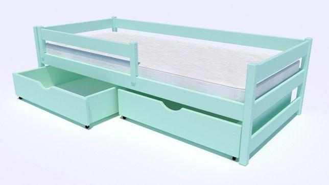 Solidne łóżko dziecięce 100% SAFE_ZONE - Mini Premium