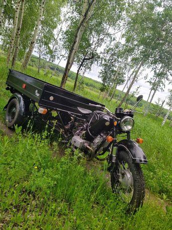 Мотоцикл КМЗ Днепр МТ 300, 1989 г. НОВЫЙ, Капсула времени, УРАЛ МГ350