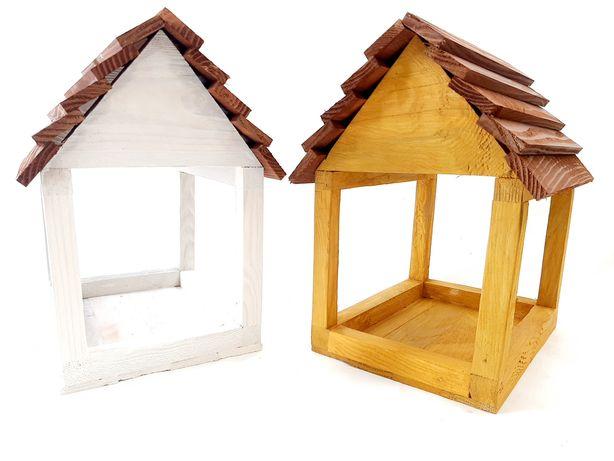 Karmnik dla ptaków budka domek