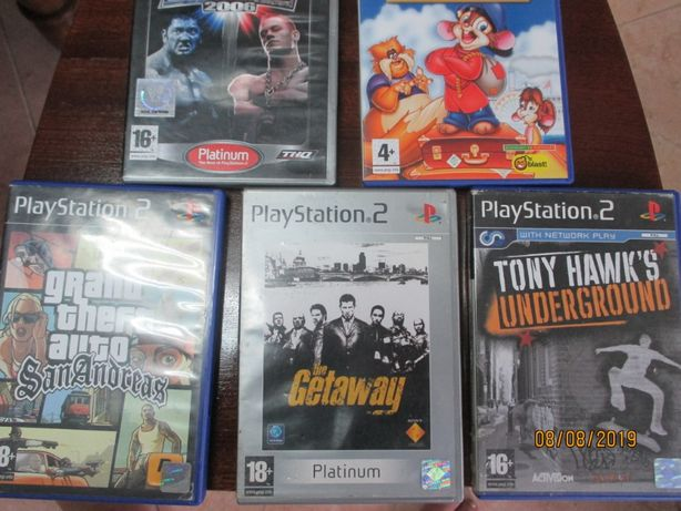 5 jogos para PlayStation 2 - (II)