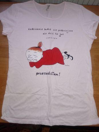 Bluzeczka z napisem