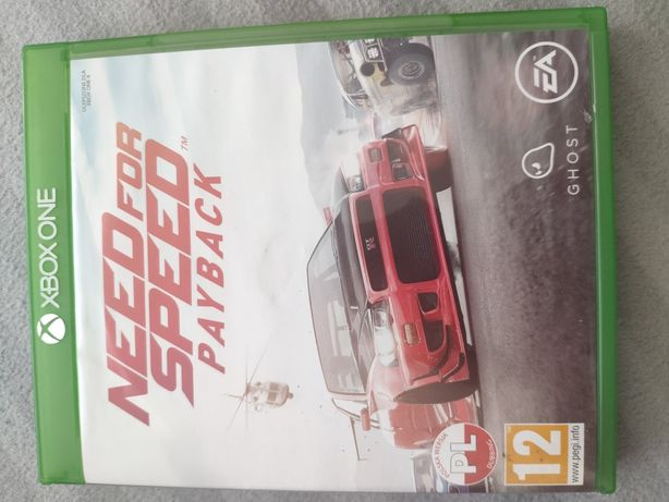 Need for speed nfs Payback gra na konsolę Xbox One