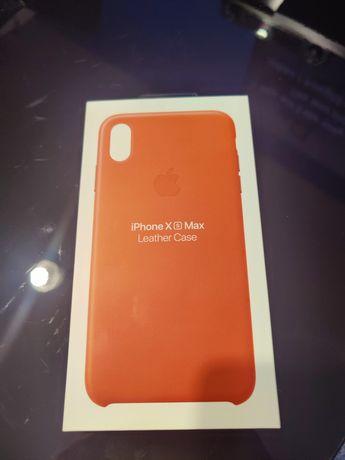 Etui iPhone XS MAX pomarańczowy