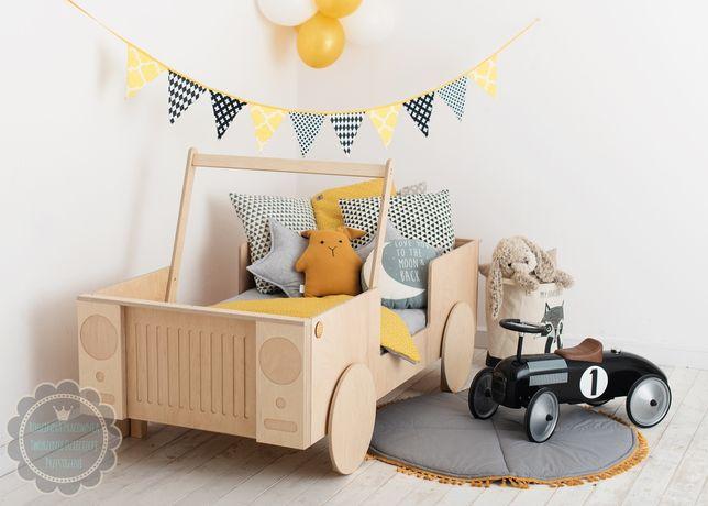 Łóżko dla dziecka auto