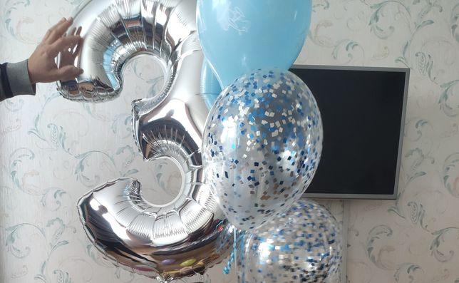 Цифра 3 и другие шарики