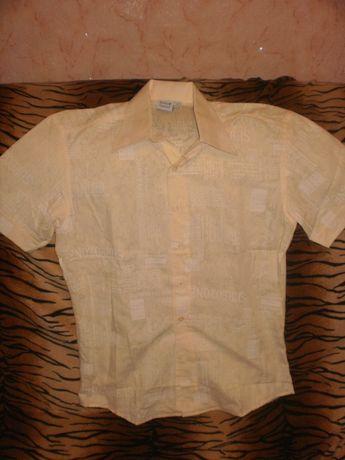 Новая летняя рубашка для мальчика.рост 160