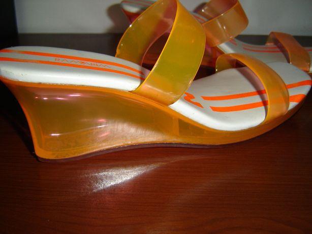 sandalias tipo soca ramarim tom laranja