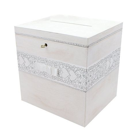 Pudełko drewniane na ślub pojemnik ozdobne box xxl