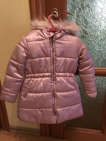 Куртка плащ зимняя 104 см курточка зимова