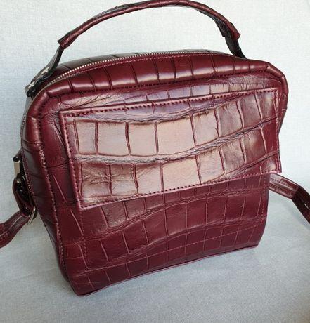 Акция Продам сумку из кожи крокодила ручной работы