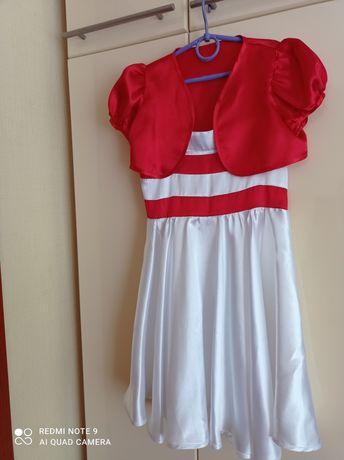 Платье на возраст 6-7 лет.