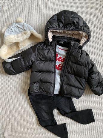 Ubranka dla chłopczyka 74 ZARA, H&M, NEXT, wyprawka