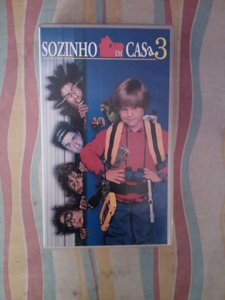 Cassete VHS Sozinho em Casa 3