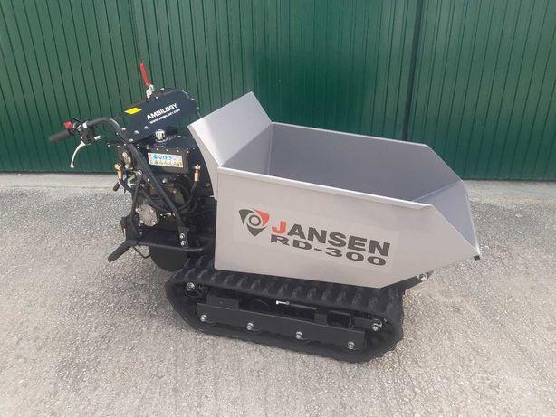 Dumper Lagartas 500Kg com basculamento hidraulico