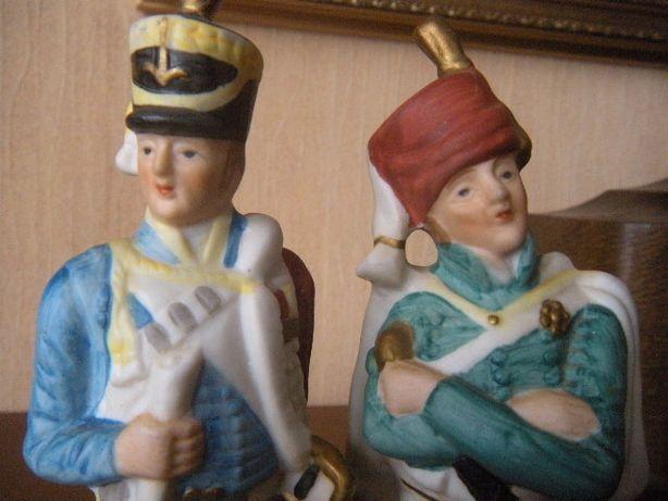 stary żołnierz żołnierzyk napoleoński szabla napoleon biskwit figurka