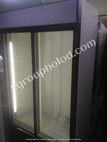 Двухдверный холодильный шкаф, витрина для напитков, Рассрочка 4 месяца