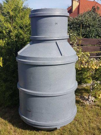 Zbiornik na deszczówkę 1100 l, zbiornik przepompownia, wodomierz,