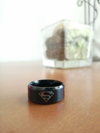 Anel - Super Homem/ Super Man (Preto)