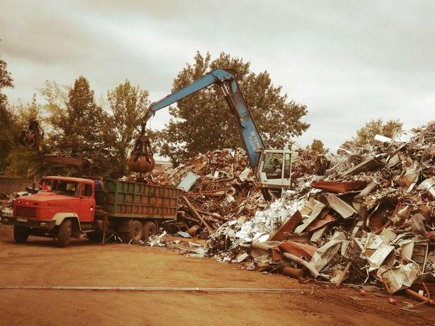 Приём металлолома (6000  тыс) тона  Киев и обл  Ирпень Буча  САМОВЫВОЗ