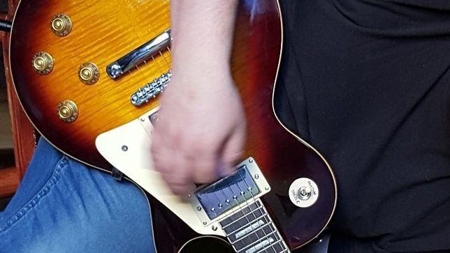 Gitara elektryczna, Etui twarde, Wzmacniacz Marschall- NOWE