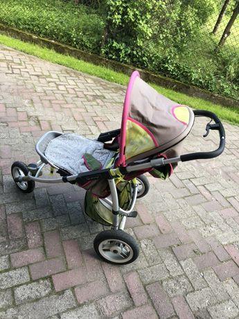 Wózek Quinny Speedy SX Spacerówka + Gondola