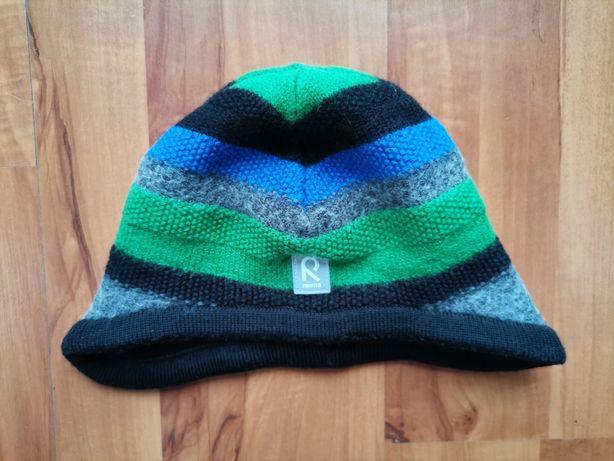 Ciepła dziecięca czapka Reima rozmiar 54 super stan