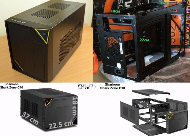 Мини Кроха-Игровой ПК Core i5-3570(4-ядра)+Radeon RX560(уровня-GTX1050