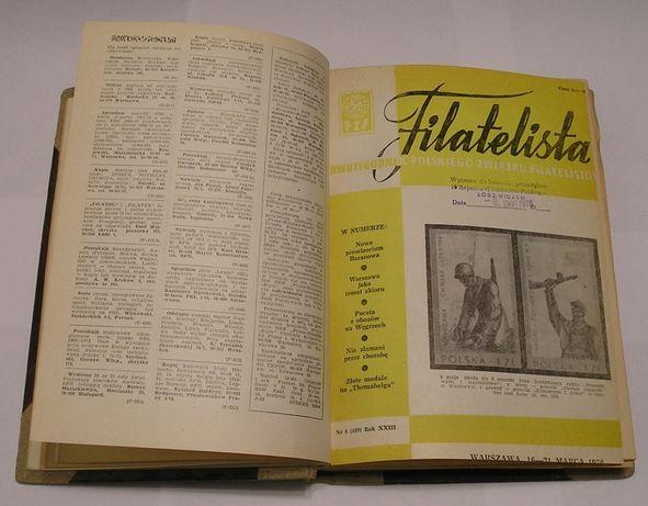 Filatelistyka - dwutygodnik - rocznik 1976 - oprawiony