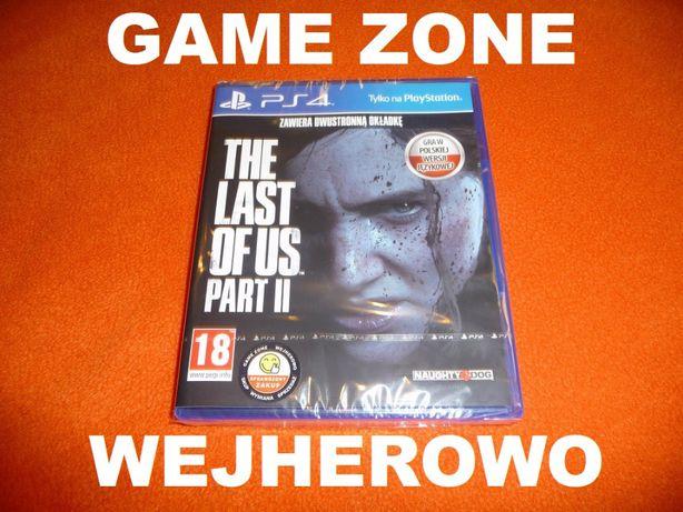 The Last of Us Part 2 PS4 + Slim + Pro = PŁYTA PL Wejherowo