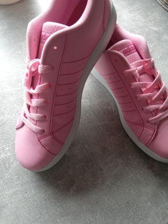 Buty różowe adidas oryginalne