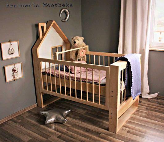 Łóżeczko domek niemowlęce