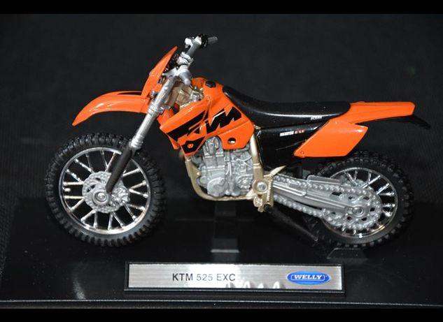 KTM 525 EXC NOWY model kolekcjonerski welly 1:18