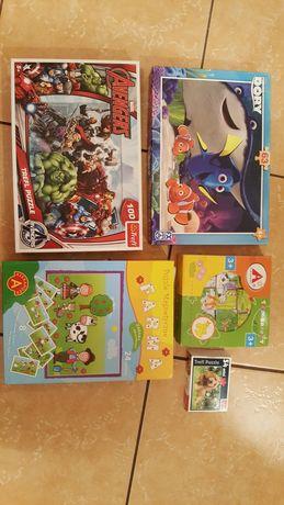 Puzzle zestaw dla dziecka