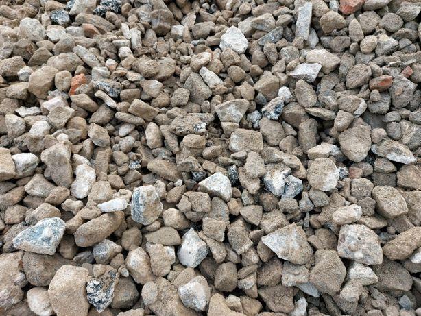Gruz betonowy tłuczeń kruszywo betonowe podkład